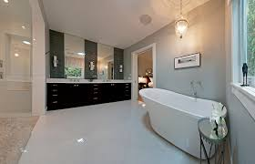 Transitional Bathroom Lighting Cottage Style Home In British Columbia