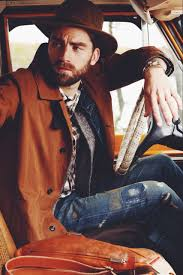 Rugged Outdoor by Fashion Landscape Nature Outdoors Rustic Autumn Denim Menswear