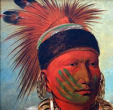 catlin the white cloud head chief of the iowas article khan