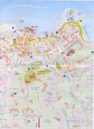 Canary Islands Map Puerto De La Cruz Tourist Map Puerto De La Cruz Canary Islands
