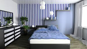 interior bedroom design blue designs rooms arafen