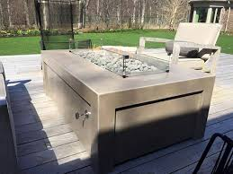 Custom Fire Pit by Chicago Concrete Custom Fire Pit Furniture