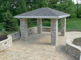 patio ideas stamped concrete patio stamped concrete patio colors