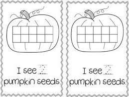 freebie my pumpkin seed a counting story kindergartenklub