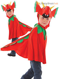 dragon halloween costume kids childs friendly red dragon costume boys kids fairytale character
