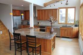 Kitchen Colors With Maple Cabinets Light Cherry Cabinets Kitchen Light Maple Flooring And