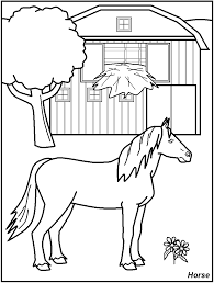 farm animals coloring page farm animal coloring pages for kids printable free printable 1107