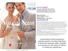 top wedding registry stores calie utah s top wedding vendors at macy s wedding registry