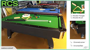 How To Clean Pool Table Felt by 7 Ft Pool Table Green Felt Trade Me