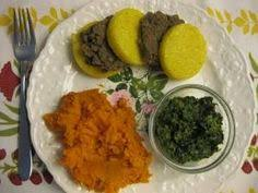 puree meat meat babies and food