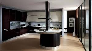 15 extremely sleek and contemporary black oval granite tops kitchen island with seating of