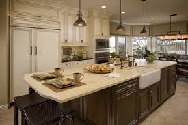 Traditional Kitchen Island Lighting Appliances Side Spray Traditional Kitchen Faucets With Overhang