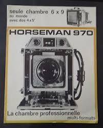 chambre appareil photo catalogue publicité appareil photo horseman 970 6x9 chambre catalog