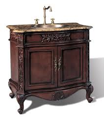 36 In Bathroom Vanity With Top by Violet 36 Inch Traditional Hand Carved Dark Cherry Bath Vanity