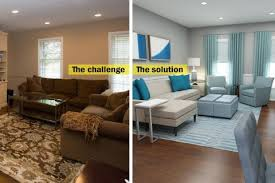 To Conquer A Crowded Family Room Start By Getting Rid Of The - Furniture family room