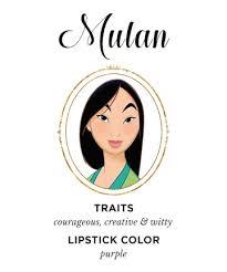 mulan lipstick wear