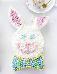 bunny cake mold confetti coconut bunny cake