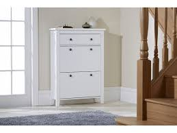shoe storage wood cabinet deluxe with storage drawer cotswold in