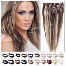 jual hair clip hair extension price harga in malaysia rambut