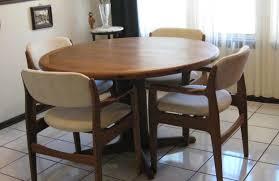 danish modern dining room table gratifying danish modern dining room tables and chairs