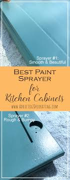 is it better to paint or spray kitchen cabinets best paint sprayer for kitchen cabinets addicted 2 decorating