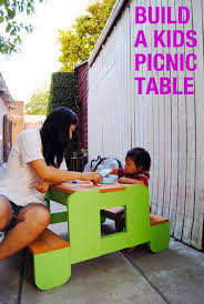 Plans For Building A Children S Picnic Table by Best 25 Kids Picnic Table Ideas On Pinterest Kids Picnic Table