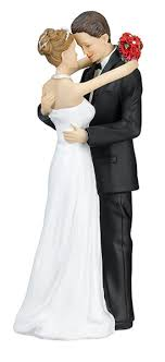 and groom figurines lillian and groom caucasian figurines cake top