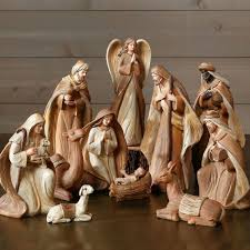 classic traditions nativity set of 11 antique farmhouse