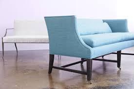 best settee furniture contemporary settees elle decor