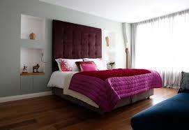 interior elegant purple theme girls bedroom decoration using