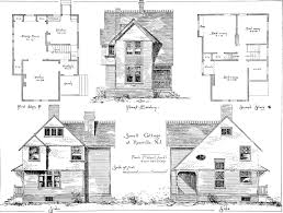 Low Cost Cabin Plans File American Cottages Consisting Of Fouty Four Large Quarto