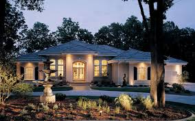 Luxury Exterior Homes - one story exterior house designs one story ranch style home