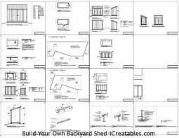 Free Barn Plans Candi Free Barn Storage Shed Plans