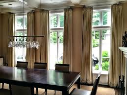 marvelous dining room bay window curtain ideas pictures best