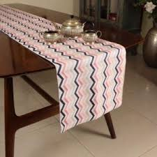 zig zag table runner table runner banaras silk table runner anhar online shopping