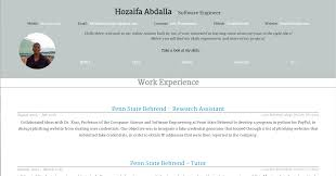 Find My Resume Online by Hozaifa U0027s Resume