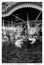 themes in magic kingdom black and white picture photo carousel magic kingdom theme park