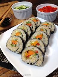 curry roasted sweet potato sushi roll the lean clean machine