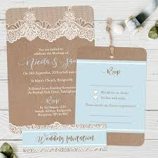 wedding invitaions lace boutique wedding invitation rsvp