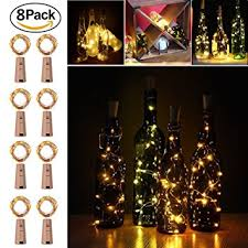 wine bottles wine bottles cork lights copper wire string lights 2