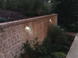 Light On Landscape Led Hardscape Lighting Deckstep And Retaining Wall Lights W With