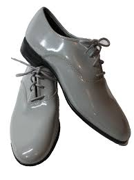 light grey dress shoes 80 s vintage shoes 80s after six mens light grey patent faux