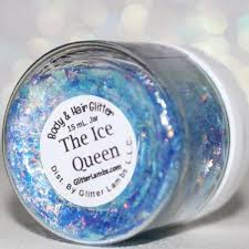 shredded mylar the glitter pot chunky glitter blue mylar