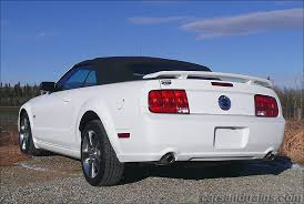 white ford mustang convertible 2007 ford mustang gt 4 6 convertible s197 performance white