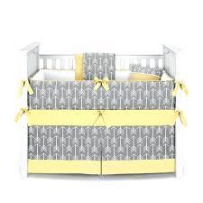 Gray And Yellow Crib Bedding Yellow Crib Bedding Set