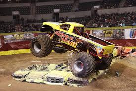 monster truck show nj somerville monster truck driver makes crushing cars a family affair