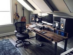 Music Studio Desk Plans by Reclaimed 88 Key Studio Desk For Audio Video Music Film
