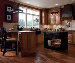 colored cabinets for kitchen coffee colored kitchen cabinets kemper cabinetry