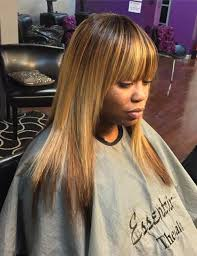 sew in weaves with bangs sew hot 40 gorgeous sew in hairstyles