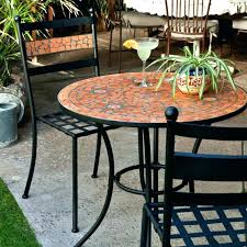 Mosaic Bistro Table Mosaic Bistro Table Set Furniture Bistro Table And Chairs Luxury